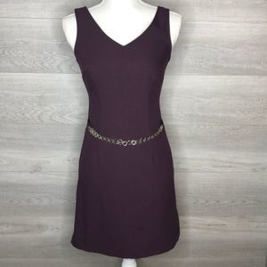 My Michelle Dress Size 3/4 Eggplant Purple